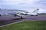 G-BHTV Cessna 310 CVT 31-07-87 (32821206370).jpg