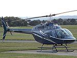 G-OJPS Bell Jet Ranger 206 Helicopter (29750059375).jpg