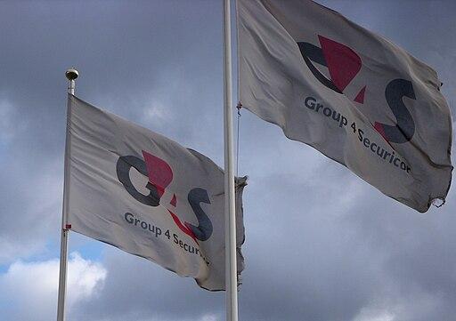 G4S flaggor