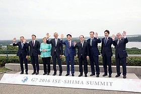 G7 leaders at summit in Ise-Shima, Japan 5.26.16.jpg
