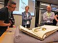 GLAMWiki 2015 Koninklijke Bibliotheek Tour 12.JPG