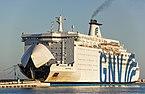 GNV Cristal (ship, 1989), Sète 2018.jpg