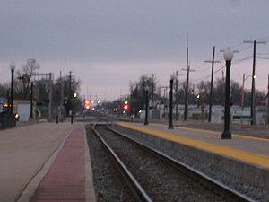 Galesburg station (Amtrak) - Image: Galesburg Station 2
