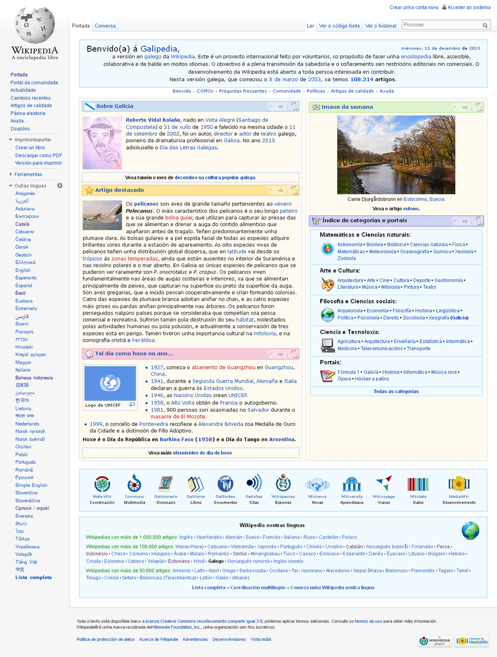 Galician wiki 20131211