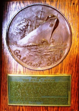 Awards and decorations of the United States Merchant Marine - Image: Gallantship