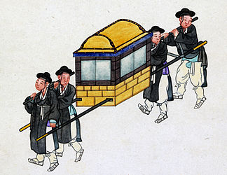 Korean sedan chair