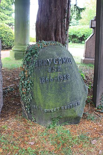 Henry Snell Gamley - Gamley's grave, Dean Cemetery