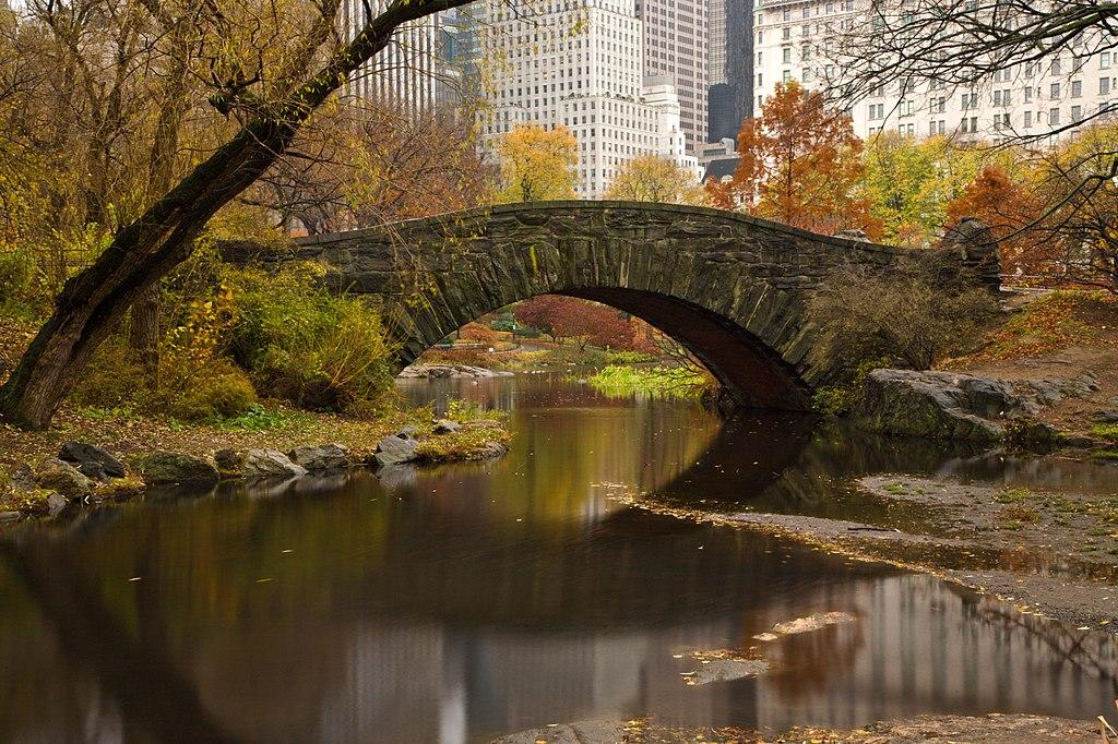 Gapstow Bridge in New York, NY