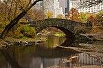 Gapstow bridge of central park in november.jpg