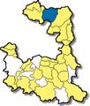 Garching bei Muenchen - Lage im Landkreis.png