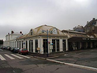 Granville, Manche - Granville railway station
