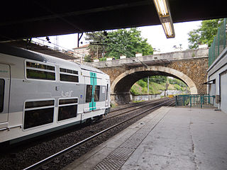 railway station in Fontenay-sous-Bois, France