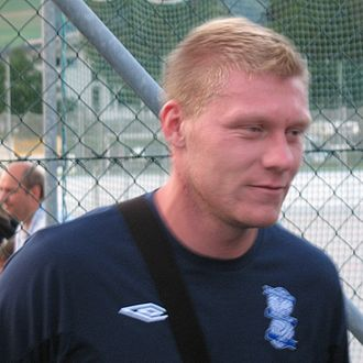 Garry O'Connor - O'Connor in pre-season with Birmingham City, 2009