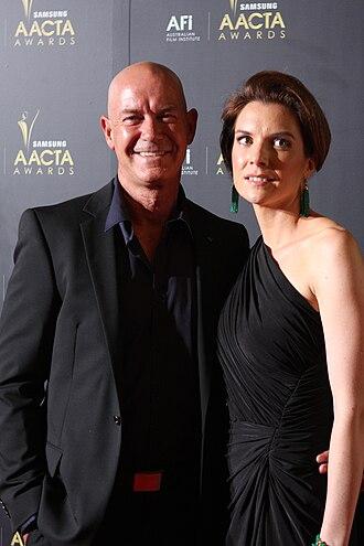 Gary Sweet - Sweet and his girlfriend Nadia Dyall at the 2012 AACTA Awards