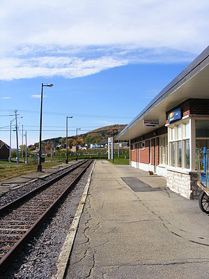 Rental Car Services >> Gaspé station - Wikipedia
