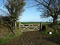 Gate and footpath - geograph.org.uk - 698120.jpg