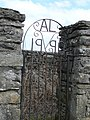 Gate to Old Lude Church - geograph.org.uk - 772220.jpg