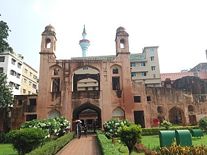 Gate way of the South East corner of Lalbagh Fort 4