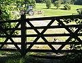 Gated field - geograph.org.uk - 522101.jpg