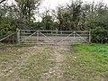 Gates into Calcroft Lane - geograph.org.uk - 1572554.jpg