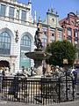 Gdańsk - Neptune's Fountain.JPG