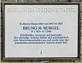 Gedenktafel Beerenstr 39 (Zehl) Bruno Hans Bürgel.JPG