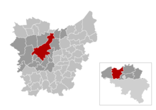 Ghent in the province of East Flanders
