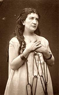 Geneviève Ward American-born British actress and opera singer