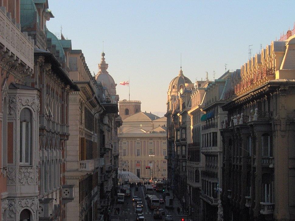 Genova - Via XX settembre