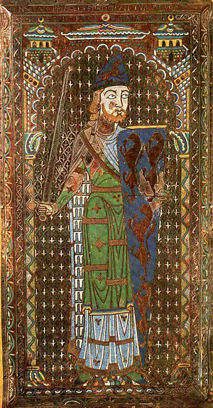 Empress Matilda - Contemporary depiction of Geoffrey of Anjou, Matilda's second husband
