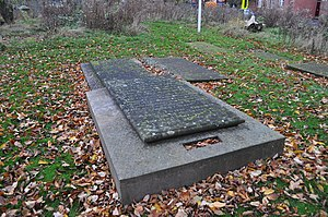 George Green (mathematician) - Green's grave, in the grounds of the church not far from his mill