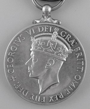 George Medal, King George VI, second obverse
