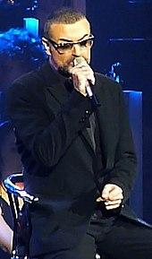 George Michael nel 2011 al Palais Nikaia per il