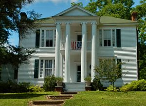 George W. Towns - The George W. Towns House in Talbotton, Georgia was added to the National Register of Historic Places on May 7, 1973.