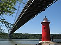 George Washington Bridge and Little Red Lighthouse - panoramio.jpg