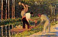 Georges Seurat - Men Laying Stakes PC 40.jpg
