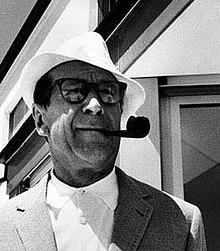 Georges Simenon nel 1963