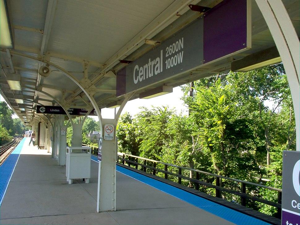Gerald Farinas Central Street CTA Station