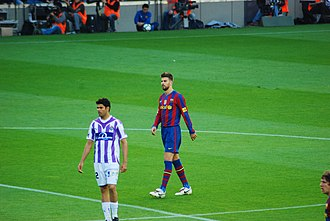 Real Valladolid - Valladolid against FC Barcelona, 2010.
