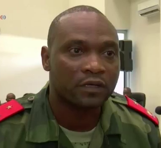 Germain Katanga former leader of the Patriotic Resistance Force in Ituri