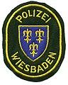 Germany - Stadt Polizei Wiesbaden (yellow lettering) (defunct 1974) (5340367679).jpg