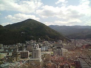 Gero, Gifu City in Chūbu, Japan