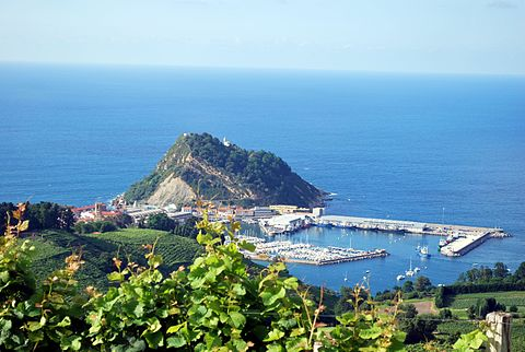 Wine region from San Sebastian?