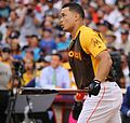 Giancarlo Stanton competes in semis of '16 T-Mobile -HRDerby. (28496632961).jpg
