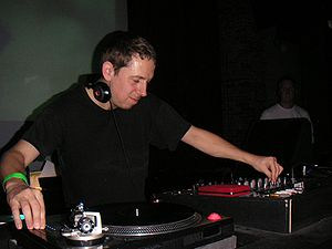 Acid jazz - Gilles Peterson, often credited with originating the genre, pictured in 2004