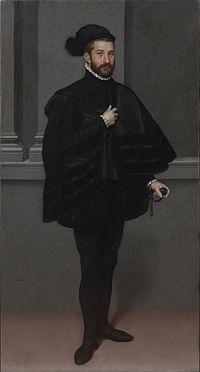 Giovanni Battista Moroni - The Knight in Black - Google Art Project.jpg