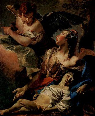 Vayeira - Hagar and Ishmael (painting circa 1732 by Giovanni Battista Tiepolo)