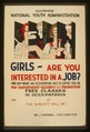 Girls - are you interested in a job? LCCN98517815.tif
