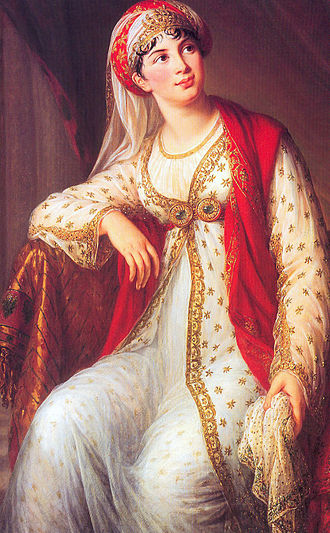 Zaïre (play) - Giuseppina Grassini as Zaire in Winter's 1805 opera based on Voltaire's play