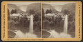 Glen Iris -- Fountain --Portage Bridge in distance, by Walker, L. E., 1826-1916.png